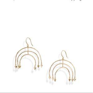 NWOT Gorjana Luca Mobile Earrings-Gold